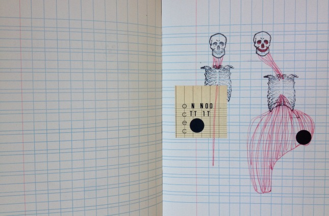 dessin cahier écolier