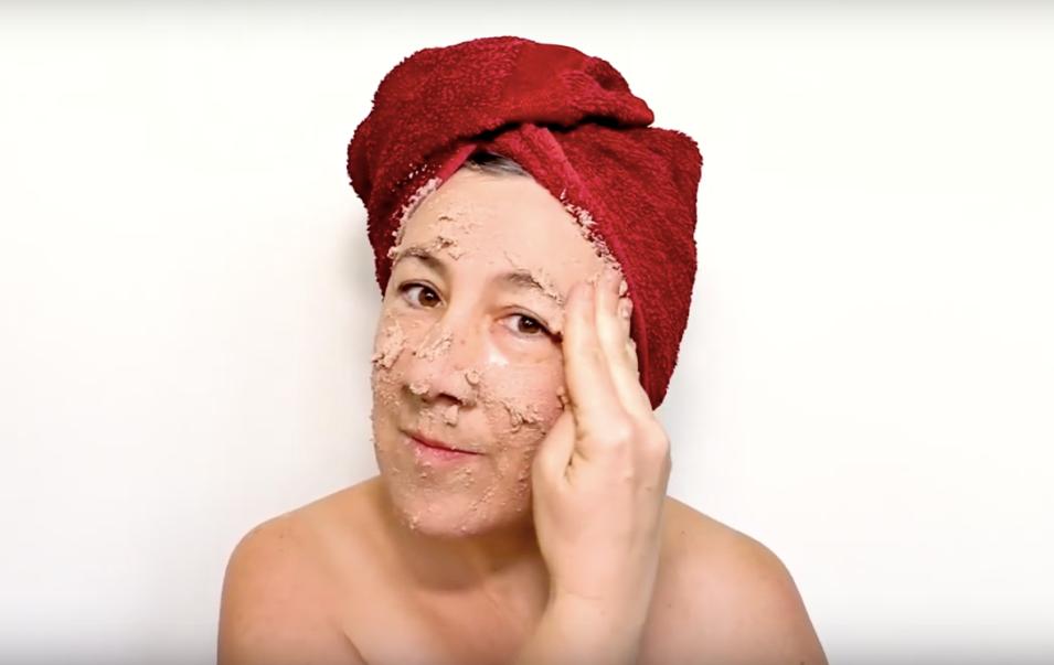 masque de pâté, masque de beauté